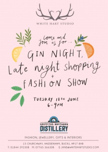 Gin Night 18th June 2019